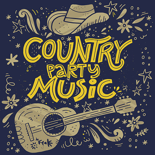 Country Party Music by Various Artists