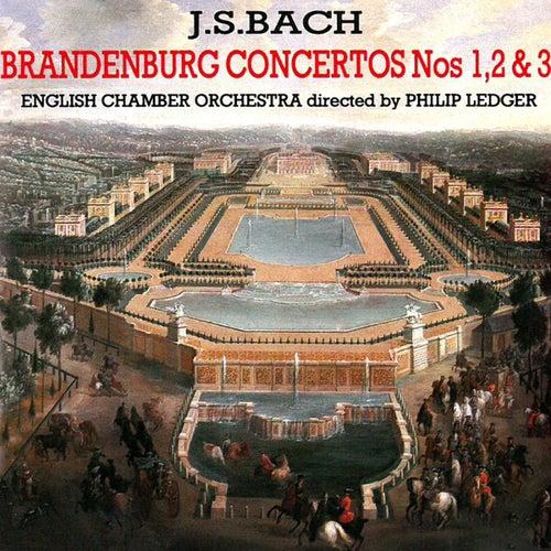 J. S. Bach: Brandenburg Concertos Nos. 1, 2 & 3 by Philip Ledger