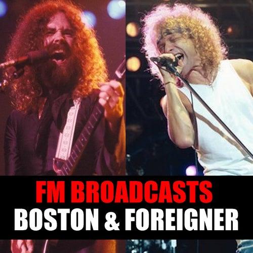 FM Broadcasts Boston & Foreigner de Boston