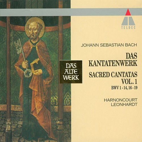 Bach, JS : Sacred Cantatas Vol.1 : BWV1-14, 16-19 by Nikolaus Harnoncourt