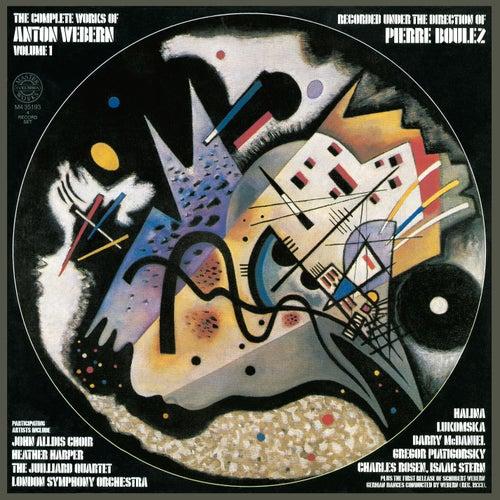 Anton Webern: The Complete Works, Vol. 1 by Pierre Boulez