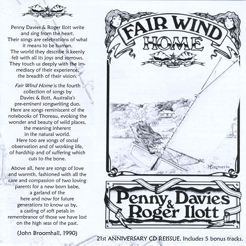 Fair Wind Home de Penny Davies