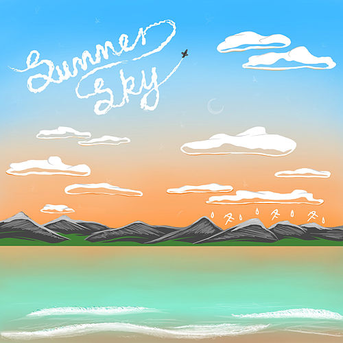 Summer Sky by Anne Fagermo