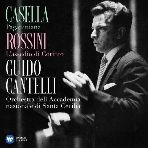 Casella: Paganiniana, Op. 65 - Rossini: L'assedio di Corinto von Guido Cantelli