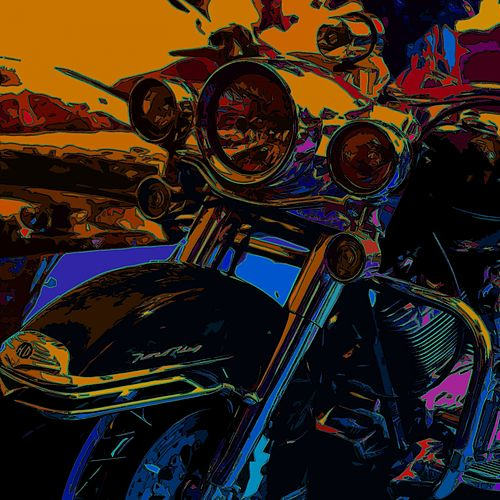 The Devil Bike by Jim Reeves