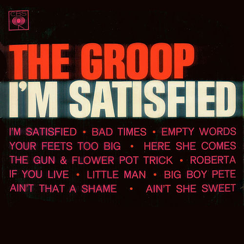 I'm Satisfied de The Groop