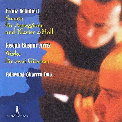Schubert & Kaspar Mertz: Works for 2 Guitars by Folkwang Gitarren Duo