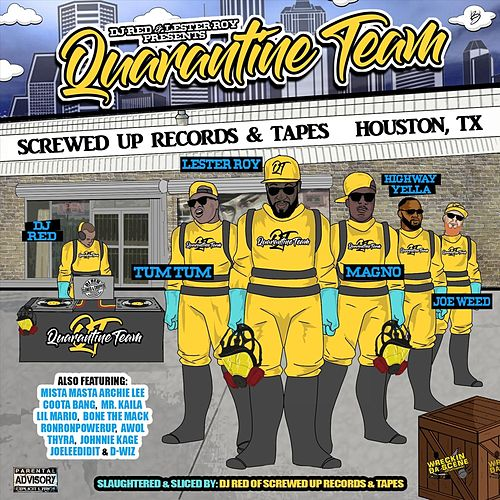 Quarantine Team by DJ RED