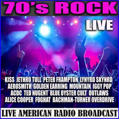 70's Rock - Live (Live) de Various Artists