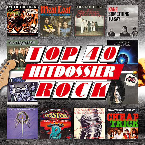 TOP 40 HITDOSSIER - Rock van Various Artists