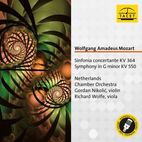 Mozart: Sinfonia concertante, K. 364 & Symphony No. 40, K. 550 by Gordan Nikolić