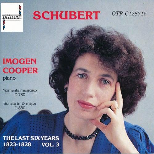 Schubert: The Last Six Years 1823-1828 Vol. 3 by Imogen Cooper