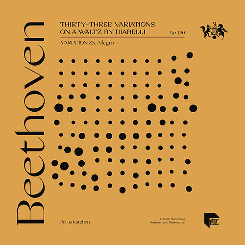 Beethoven: Thirty-Three Variations on a Waltz by Diabelli, Op. 120: Variation 25. Allegro by Julius Katchen