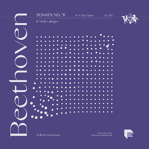 Beethoven: Sonata No. 31 in A-Flat Major, Op. 110: II. Molto allegro by Wilhelm Backhaus