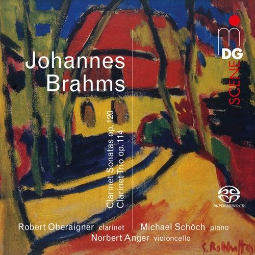 Brahms: Clarinet Sonatas & Clarinet Trio von Robert Oberaigner