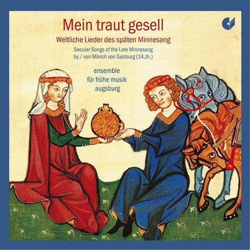Mein traut gesell: Secular Songs of the Late Minnesang von Ensemble für frühe Musik Augsburg