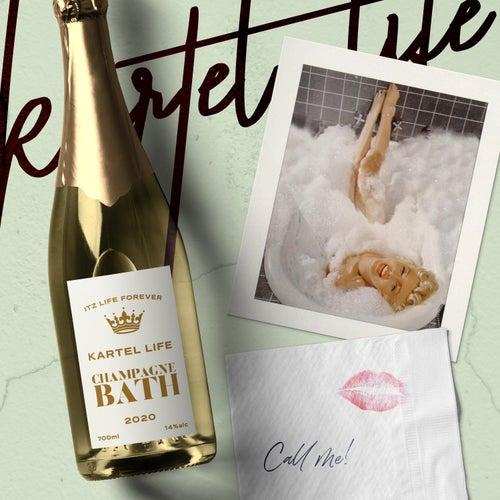 Champagne Bath von Kartel Life