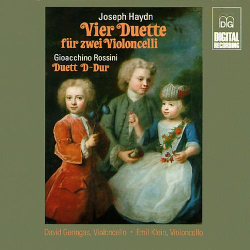 Haydn & Rossini: Duets for Two Violoncelli de David Geringas