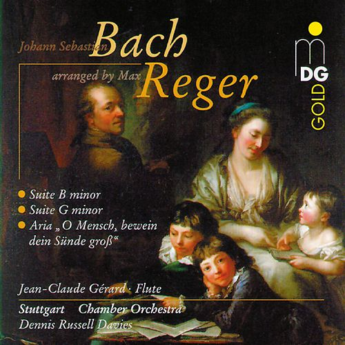 Bach: Suite in G Minor & Suite in B Minor (Arranged by Max Reger) by Jean-Claude Gérard