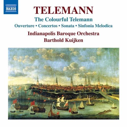 The Colorful Telemann de Indianapolis Baroque Orchestra