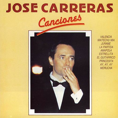 Canciones by Jose Carreras