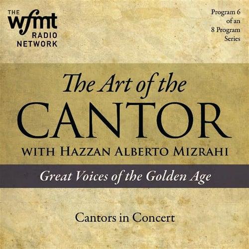 TAC Show 6: Cantors in Concert (1920-1960) von Various Artists