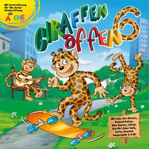 Ottokar hat Segelohren von Giraffenaffen
