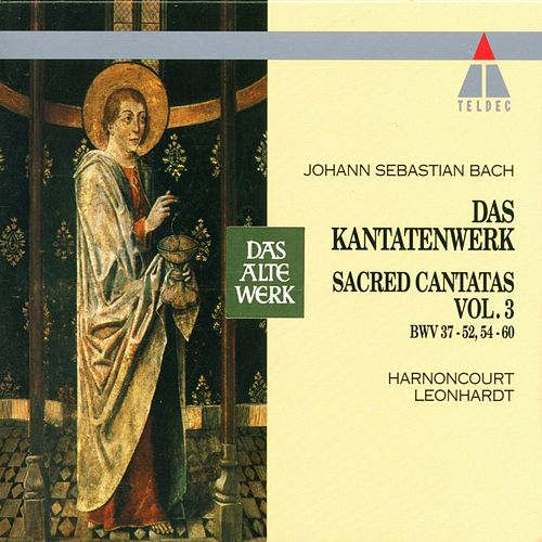 Bach, JS : Sacred Cantatas Vol.3 : BWV 37-52, 54-60 by Nikolaus Harnoncourt