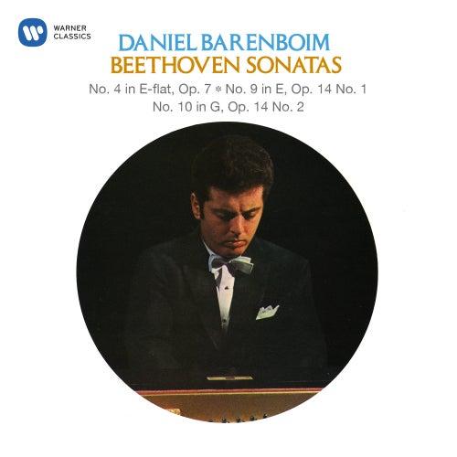 Beethoven: Piano Sonatas Nos. 4, 9 & 10 by Daniel Barenboim