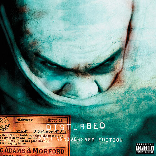 The Sickness (20th Anniversary Edition) fra Disturbed
