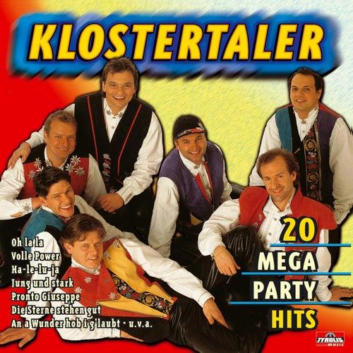 20 Mega Party Hits von Klostertaler
