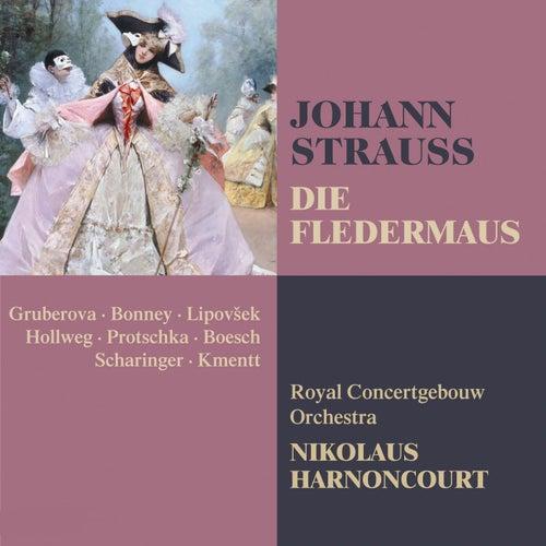 Strauss, Johann II : Die Fledermaus de Nikolaus Harnoncourt