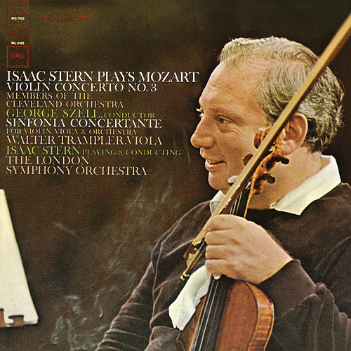 Mozart: Violin Concerto No. 3, K. 216 & Sinfonia concertante, K. 364 (Remastered) de Isaac Stern