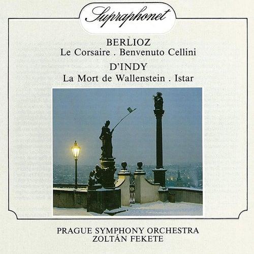Berlioz: Le Corsaire, Benvenuto Cellini / D´Indy: La Mort de Wallenstein & Istar by Prague Symphony Orchestra