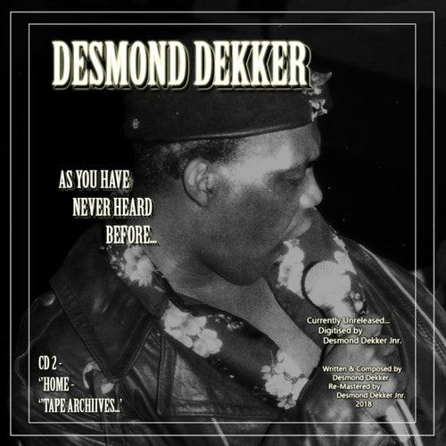 Desmond Dekker as You Have Never Heard Before Cd2 Home Tape Archives de Desmond Dekker