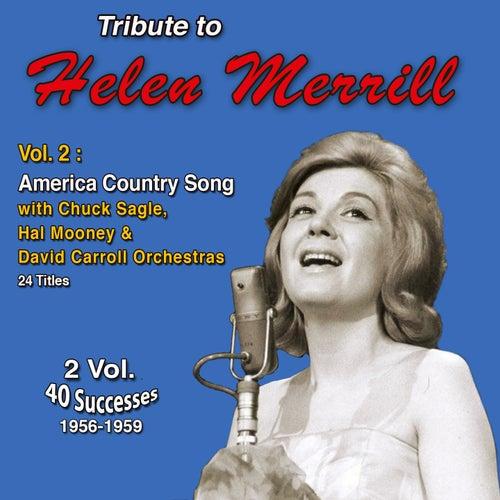 Tribute to Helen Merrill (Vol. 2 : American Country Songs) by Helen Merrill