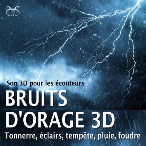 Bruits d'orage 3D, tonnerre, éclairs, tempête, pluie, foudre - Son 3D pour les écouteurs von Torsten Abrolat