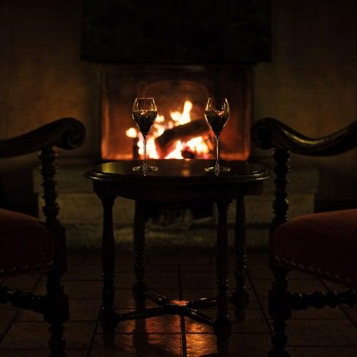 Fireplace by Elevator