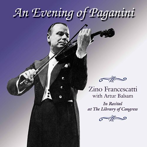 An Evening of Paganini (Live) de Zino Francescatti