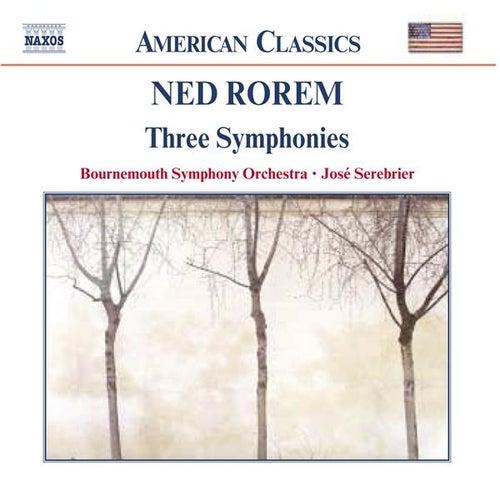 Three Symphonies von Ned Rorem