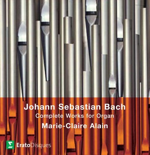 Bach, JS : Complete Organ Works [1980] von Marie-Claire Alain