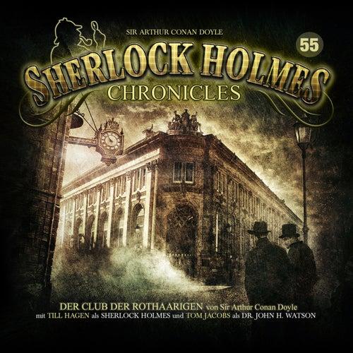 Folge 55: Der Club der Rothaarigen von Sherlock Holmes Chronicles