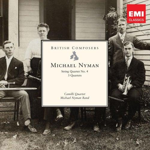 String Quartet No.4; Three Quartets di Michael Nyman