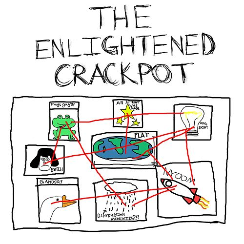 The Enlightened Crackpot by Artie Trasshko