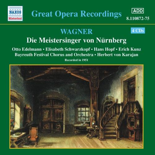 Wagner, R.: Meistersinger Von Nurnberg (Die) (Karajan) (1951) de Otto Edelmann