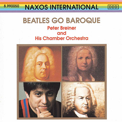 Beatles Go Baroque de Peter Breiner