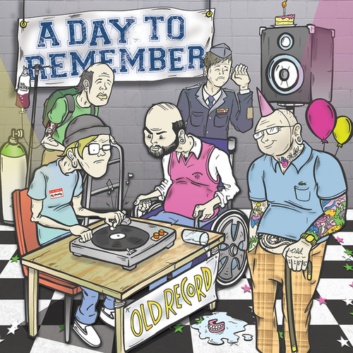 Old Record van A Day to Remember
