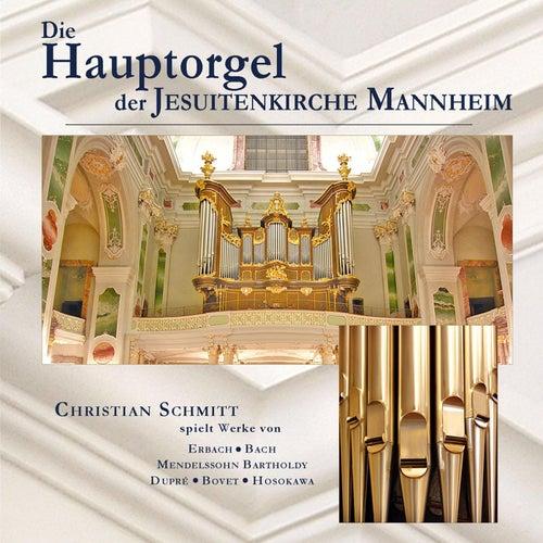 Die Hauptorgel der Jesuitenkirche Mannheim by Christian Schmitt