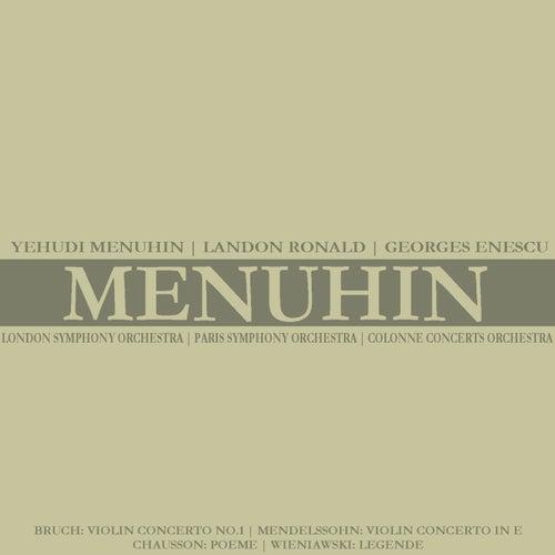 Bruch: Violin Concerto No. 1 - Mendelssohn: Violin Concerto in E by Yehudi Menuhin