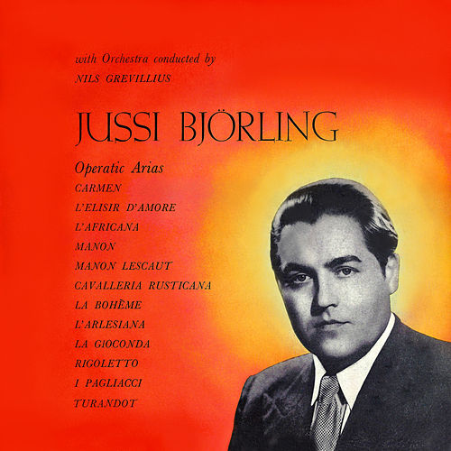 Operatic Arias von Jussi Bjorling